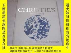二手書博民逛書店香港佳士得2004年拍賣罕見CHRISTIE   S drag