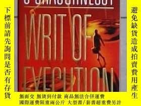 二手書博民逛書店英文原版罕見Writ of Execution by Perri