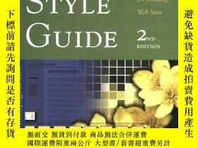 二手書博民逛書店Web罕見Style GuideY256260 Patrick J. Lynch Yale Universit