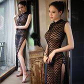旗袍女連身裙長款改良時尚復古修身顯瘦氣質旗袍裙寫真夏 奇思妙想屋