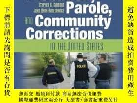 二手書博民逛書店Probation罕見Parole And Community Corrections In The United