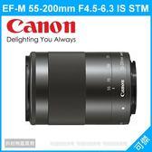CANON EF-M 55-200mm F4.5-6.3 IS STM 變焦望遠 平輸 EOS M數位相機專用