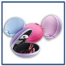 小號耳機包 多功能手機充電器數據線整理收納包盒耐壓拉鏈包 顏色隨機