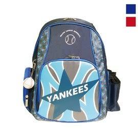 Backbager 背包族【MLB 美國大聯盟 洋基】超輕量MLB洋基之星書包/後背包 紅/藍