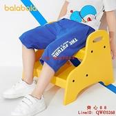 兒童短褲男童褲子寶寶童裝新款針織運動褲休閑潮【齊心88】