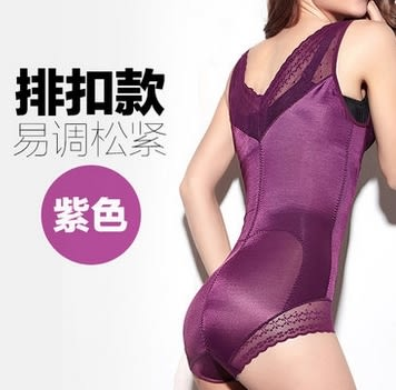 薄款加強型產後束身衣連體四季薄款重壓型收腹衣-mov2013