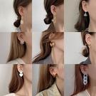 耳環 s925純銀耳環女氣質高級感夏季耳釘2021年新款潮大氣耳墜輕奢耳飾