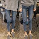 【A4009】淺藍彈力牛仔褲 XL-5X...