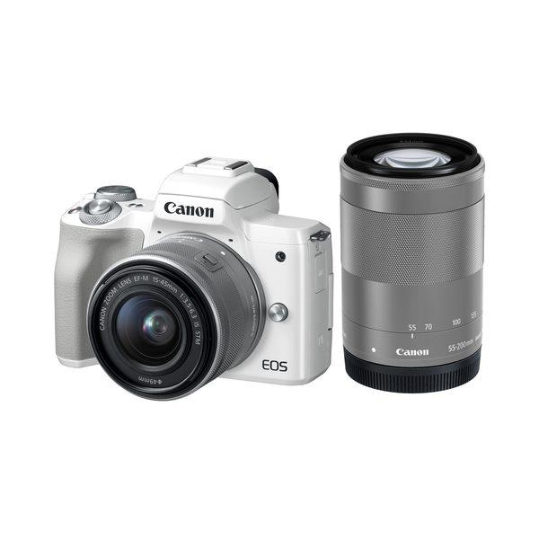 【聖影數位】Canon EOS M50 [15-45mm + 55-200mm 雙鏡組] 公司貨 微單眼相機 無反