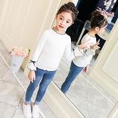 童裝女童秋裝2020新款正韓中大兒童時髦上衣打底衫春秋款修身T恤