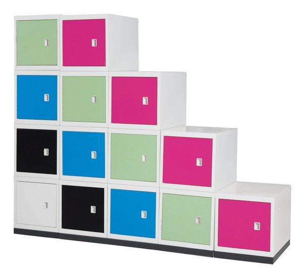 【 IS空間美學】學生書包收納櫃
