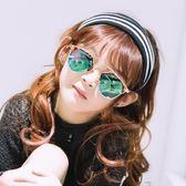 兒童太陽鏡墨鏡防紫外線男童女童遮陽鏡蛤蟆鏡潮小孩眼鏡寶寶墨鏡