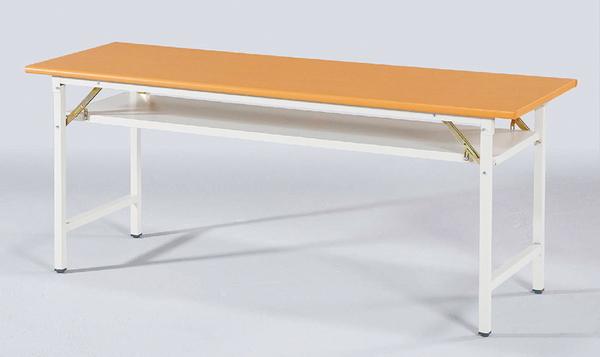 【IS空間美學】木紋塑鋼面會議桌(四款尺寸可選)