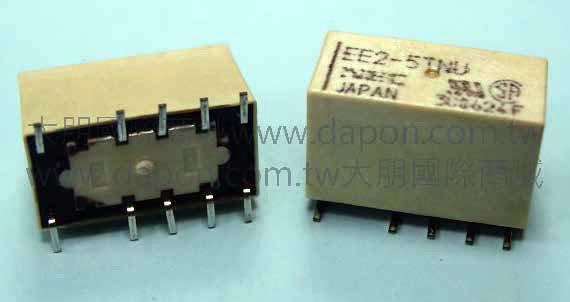 *大朋電子商城*NEC TOKIN EE2-5TNU(日本製)繼電器Relay(5入)