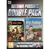【意念數位館】PCGAME- 野外體驗大合輯 PCGAME-職業釣魚 2012+麋鹿獵人 Deer Drive 英文版