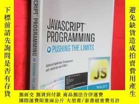 二手書博民逛書店JavaScript罕見Programming: Pushing
