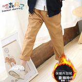男童裝長褲子兒童中大童加絨加厚保暖休閒褲韓版潮 歐韓時代