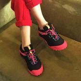 麥樂戶外鞋登山鞋女秋冬防水透氣防滑徒步鞋女酷動城運動鞋igo