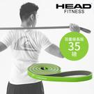HEAD海德 雙色環狀阻力帶羽量級長版寬1.3cm 天然乳膠阻力圈環狀阻力帶拉力帶 WELLCOME好吉康