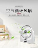 冷風機 usb小風扇便攜式可充電迷你隨身靜音學生宿舍辦公室桌面台式電扇 玫瑰女孩