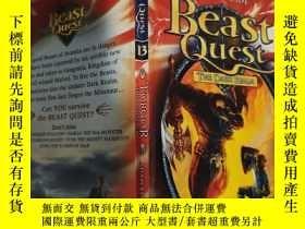 二手書博民逛書店beast罕見quest the dark realm 野獸探索黑暗王國..,Y200392