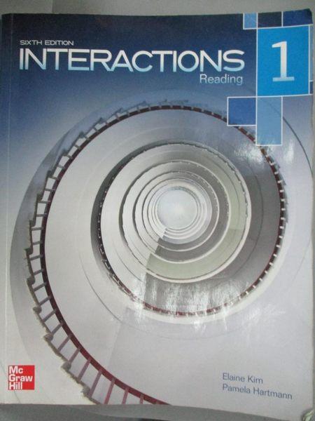 【書寶二手書T6/語言學習_YDB】Interactions 1 Reading Student Book_MCGRAW