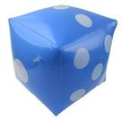 充氣骰子 安全骰子(彩色) 30cm/一袋10個入(促70) 充氣球 吹氣海灘球 沙灘球-YF17541