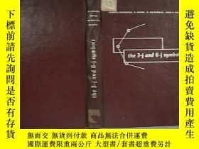 二手書博民逛書店罕見3j與6j符號表Y223356 出版1959