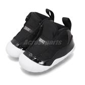 Nike Air Jordan 11 Retro Crib Bootie 黑 紅 童鞋 小童鞋 幼童 籃球鞋 運動鞋【PUMP306】 CI6165-061