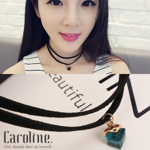 《Caroline》★韓國時尚復古風設計項鍊69015