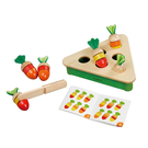 玩偶的家PlayMe 拔蘿蔔對對樂-配對認知學習-小朋友最愛切菜玩具 比漾廣場