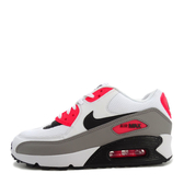 Nike WMNS Air Max 90 [325213-132] 女鞋 運動 慢跑 休閒 輕量 氣墊 避震 穿搭 白灰