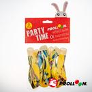 【大倫氣球】12吋多彩圓形氣球 9入裝 MULTI COLOR BALL 混色 小包裝 派對佈置 台灣生產製造 安全玩具