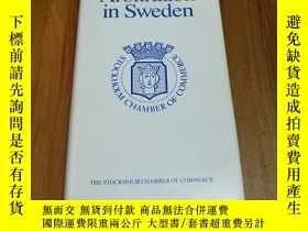 二手書博民逛書店Arbitration罕見in sweden(瑞典的仲裁)128