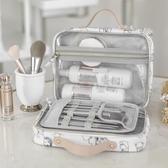 化妝包大容量手提化妝箱女便攜旅行小號化妝品收納盒【聚寶屋】