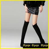 過膝靴-膝上靴長靴女彈力靴過膝靴內增高女靴子高跟單靴 衣普菈