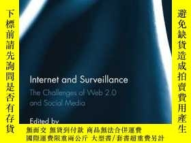 二手書博民逛書店Internet罕見And SurveillanceY256260 Christian Fuchs, Rout