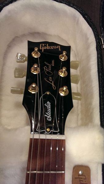 【金聲樂器】2016 Gibson Les Paul Studio T 電吉他 金色配件 附原廠硬盒
