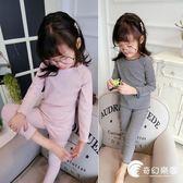 女童春秋季舒適上衣 褲子兩件套 中小童時尚百搭套裝兒童裝