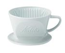 金時代書香咖啡 Kalita 101系列 波佐見燒陶瓷三孔濾杯 簡約白 1-2份 #01010
