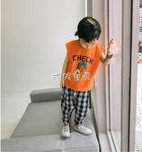 男童背心 韓版男童無袖T恤兒童棉質打底汗衫 珍妮寶貝