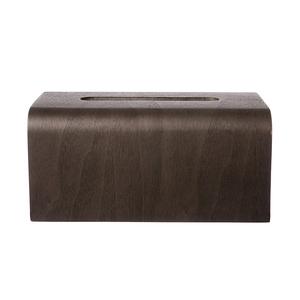 Bent木質面紙盒-胡桃木色
