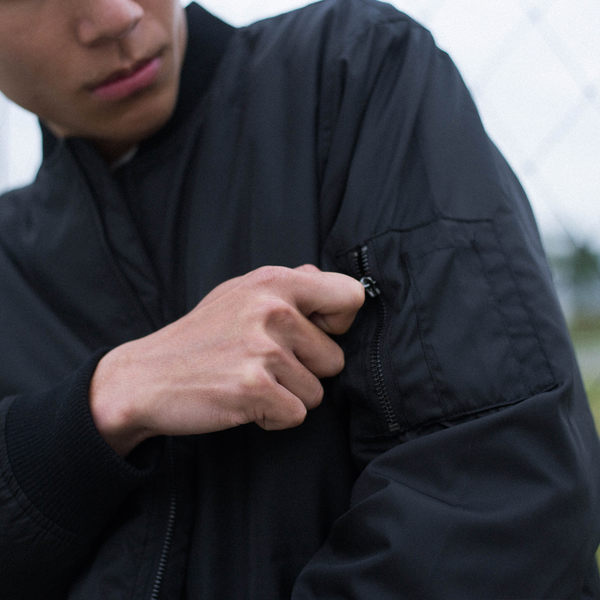 FAIRPLAY BRAEDEN BLACK 黑 外套 MA-1 飛行夾克【GT Company】