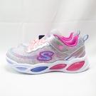 Skechers S LIGHT-SHIMMER BIAMS 中童鞋 20300LSMLT 銀【iSport愛運動】