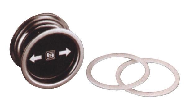 LAH-4內嵌式把手 適用板厚30mm以上 不銹鋼浴廁門閂 開關指示鎖 橫拉門 安全鎖 雙向安全表示鎖