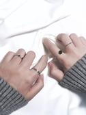 戒指日韓簡約關節戒指組合潮人飾品開口尾戒指環對戒女復古配飾J020 春季新品