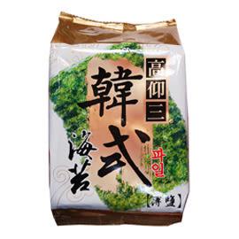 高仰三  韓式小海苔 (11.5公克) 12盒 (薄鹽6切24枚入)(純素)