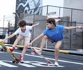 兒童滑板車四輪滑板初學者兒童小男孩女生6 12 歲以上劃板發光 滑板車TW ~ 出貨八折下