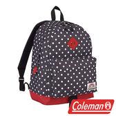 【美國Coleman】C-DAY 26L後背包/ 經典黑圈圈 休閒背包 旅遊背包 雙肩包 書包 運動包 CM-21544