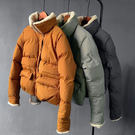 【現貨】羊羔毛短版麵包服外套M-L-3色...